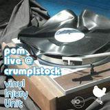 pomDeter - live @ Crumplstock (Vinyl Injury Unit Stage)