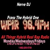 Real Rap Radio Show Host Nerve DJ Franz The Hybrid One 6-14