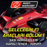 Geyikliyoruz Cumartesi #10 – Geleceğin F1 araçları Bölüm 1: Şasi konseptleri – 10 Şubat 2018