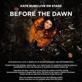You Can't Go Dooksie - A Very Personal Response to The Kate Bush Hammersmith shows