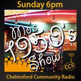 Mo's 50's Show - @DJMosie - Mo Stone - 09/08/15 - Chelmsford Community Radio