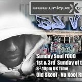 DJ VC SUNDAY SOULFOOD ON UNIQUEXTRA - 3RD JUNE 2018