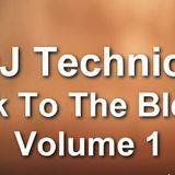 DJ Technics Back To The Blends Volume 1