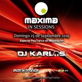 ------DJKARLOS----- MAXIMA FM INSESSIONS 25-09-16