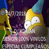 DJ ADRIÁN SESIÓN ESPECIAL CUMPLEAÑOS (100%VINILOS)