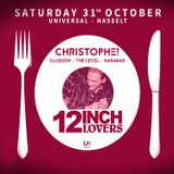 Christophe! @ 12 Inch Lovers (31.10.2015)