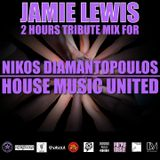 Jamie Lewis Special Tribute 2 Hours Afro House Mix for Nikos Diamantopoulos House Music United