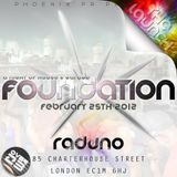 LIVE SET at FOUNDATION @ Raduno 25.02.12 - Hosted By Farda Fifa & Profile One