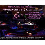 Afterhours (a deep house session), WLUW, 88.7 FM (Chicago) 3/3/2018