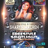 Dj Lexx Presents Freestyle Spotlight Countdown Special Guest  Sharyn Maceren   ep 13   7-22-18