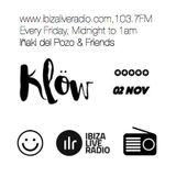 Mark J for Inaki del Pozo #2, IbizaLiveRadio Klow Radio Show November 2nd 2018