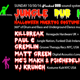 Jungle Dub House Halloween relaunch pt One