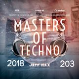 Masters Of Techno Vol.203 By Jeff Hax