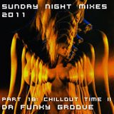 Sunday Night Mixes, 2011: Part 18 - Chillout time II - Da funky Groove