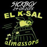 Saturday at @K-sal (Almazora, 24-5-2015)