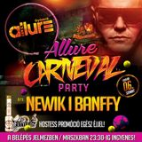 Club Allure Live - 2016.02.06. - Carneval Party - Newik - Banffy