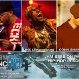 #LECYPHER WEEK 8 2014/11/27 // X-WAM + LINX + CONN SHAWNERY // hip-hop & soul jam session