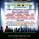The Thursday Rockshow on Forest FM 20-April-2017