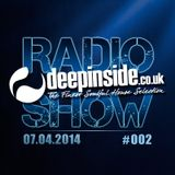 DEEPINSIDE RADIO SHOW 002 (Tribute to Frankie Knuckles)