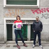 Raheem Talks To Giulia Blasi w/ Federico Sardo 15-11-18
