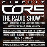 CIRCUIT CORE - THE RADIO SHOW - EP.2 - F.NOIZE VS SYSTEM OVERLOAD VS CHEM D