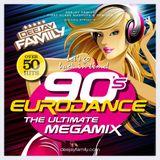 Deejay Family  - 90's Eurodance - The Ultimate Megamix (Part 1 + Part 2)