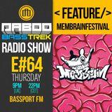 BASS TREK 64 with DJ Daboo on bassport.FM