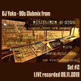 "Oldschool 90s Vinyl-Mix #2 at ""Remember Ozon"" (09.11.2019 @ Club Ozon, Switzerland)"