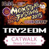 MONSTER's FESTIVAL2015 VDJMajin EDM MIX @CLUB CITTA'