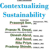 "Panel Discussion ""Contextualizing Sustainability"" @ TRCSS, JNU"