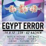 BLACK RAINBOVV DJ SET @ Egypt Error (Aachen, Germany) 2012