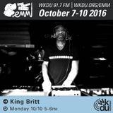 King Britt 2016 EMM
