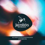 Vinylab / The Jazzsticks Show mix Nov 16