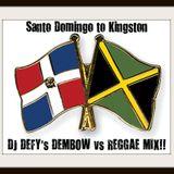 """Santo Domingo To Kingston"" DJ DEFY Dembow Vs Reggae Mix"