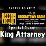 REGGAETOWN - FEBRUARY 18 2017
