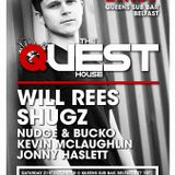 Warm up set for Will Rees @ Quest 21st November 2015