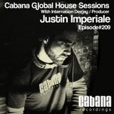 Justin Imperiale - Cabana Global House Sessions (Episode 209)