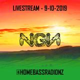 Home Bass Radio Livestream 9-10-2019 - NGN