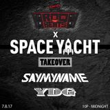 ROQ N BEATS with JEREMIAH RED 7.8.17 - SPACE YACHT TAKEOVER FEAT. YDG & SAYMYNAME - HOUR 1