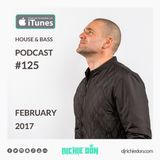DJ Richie Don – House n Bass Podcast #125 – Feb 2017
