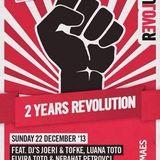 dj's Luana Toto & Elvira Toto @ La Rocca - 2 Years Revolution 22-12-2013