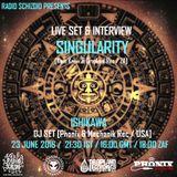 Singularity - Live on Radio Schizoid June 2016
