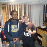 Kaleem Taylor with LP at Bang Radio Drive Time 4 - 7 www.wearebang.com