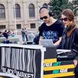 Alexander b2b Anita - Live @ Maria-Theresien-Platz / BlackMarket / MAI RAVE / mix 30.04.2017