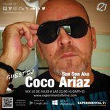 Sun Son AKA Coco Ariaz Universal Grooves Radio Show #004 @ Experimental Tv Radio (10-07-2019)
