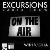 Excursions Radio Show #11 with DJ Gilla - Sept 2012