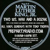 Two 12s Wax and a Bozak 1-14-18 Edition all vinyl Sundays with Tony Troffa