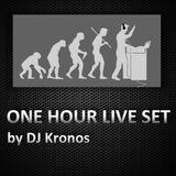 One hour live set by DJ Kronos