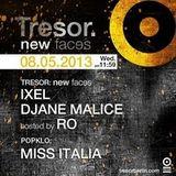 Djane MALICE @ Tresor Berlin 08.05.2013