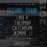 Catchoumi & Theo-man for Techno Train at Downtown, 02 May 2015